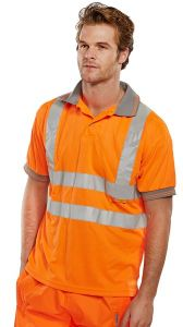 High-Viz Polo (Sizes S - 4XL)